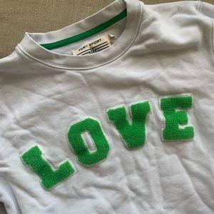 Tory Burch sport Love sweater